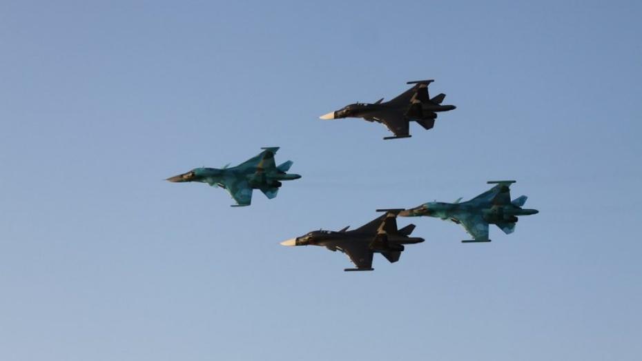 Сегодня в небе над Воронежской и Курской областью проходят воздушные дуэли