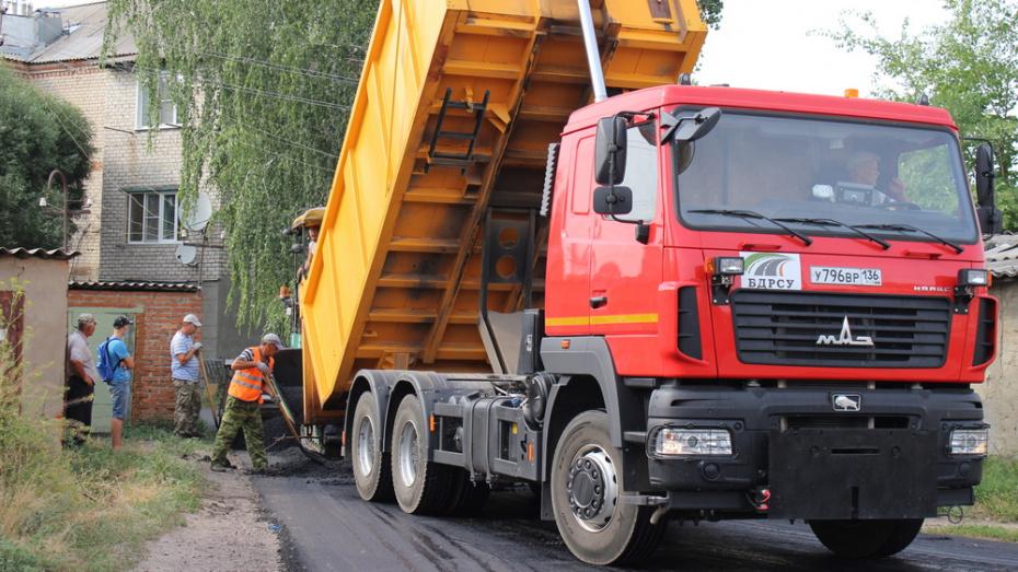 На ремонт дорог в Семилуках потратят 15,7 млн рублей