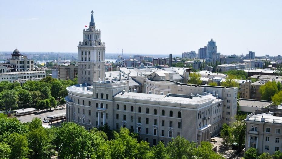Воронежская область вошла в ТОП-5 рейтинга эффективности регионов