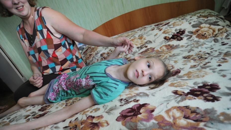 Воронежские волонтеры соберут средства на операцию девочке с ДЦП