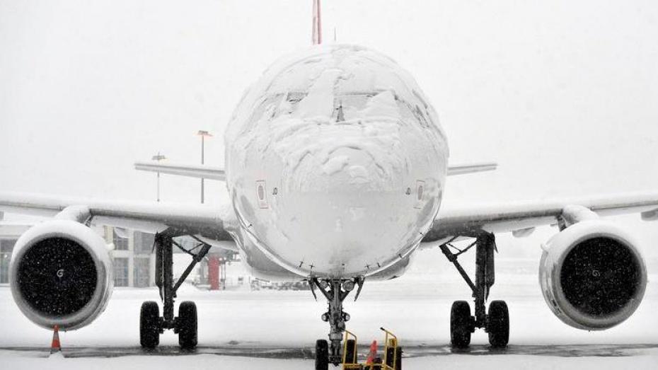 Погода внесла коррективы в работу воронежского аэропорта