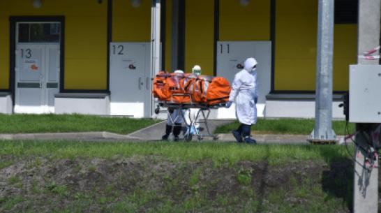 Быстровозводимый медцентр на Ростовской в Воронеже принял первых зараженных