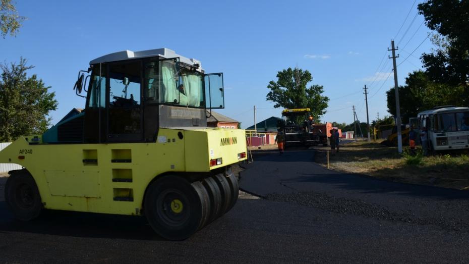В верхнемамонском селе Нижний Мамон отремонтируют уличные дороги за 6,5 млн рублей