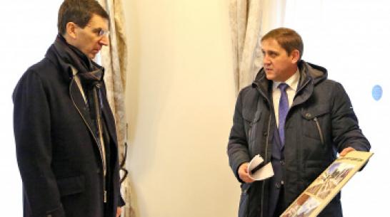 Полпред президента в ЦФО оценил проект эко-деревни на примере «умного» дома в Воронеже