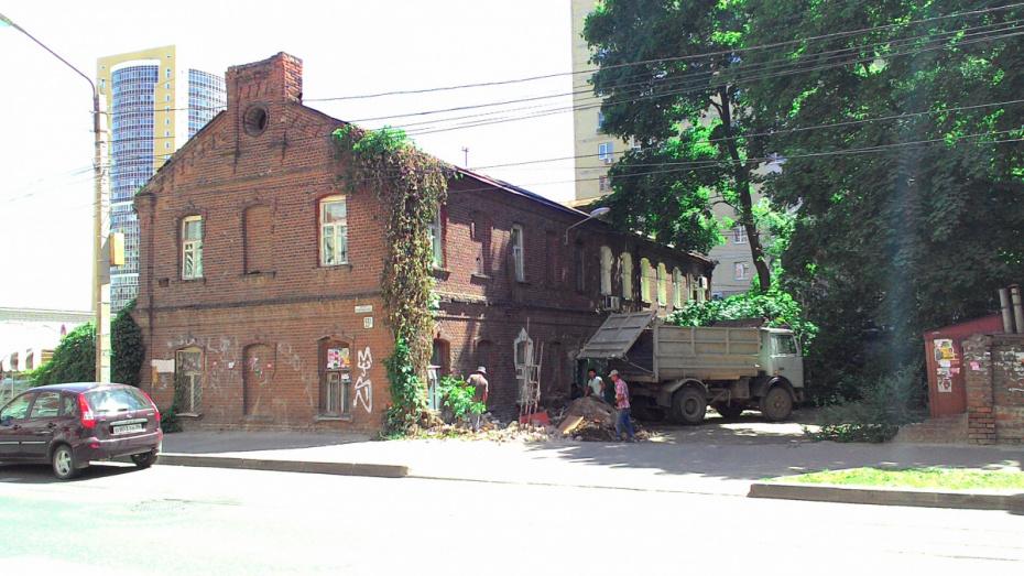 Воронежский облсуд запретил строить 4-этажный офис рядом с Домом Михайлова