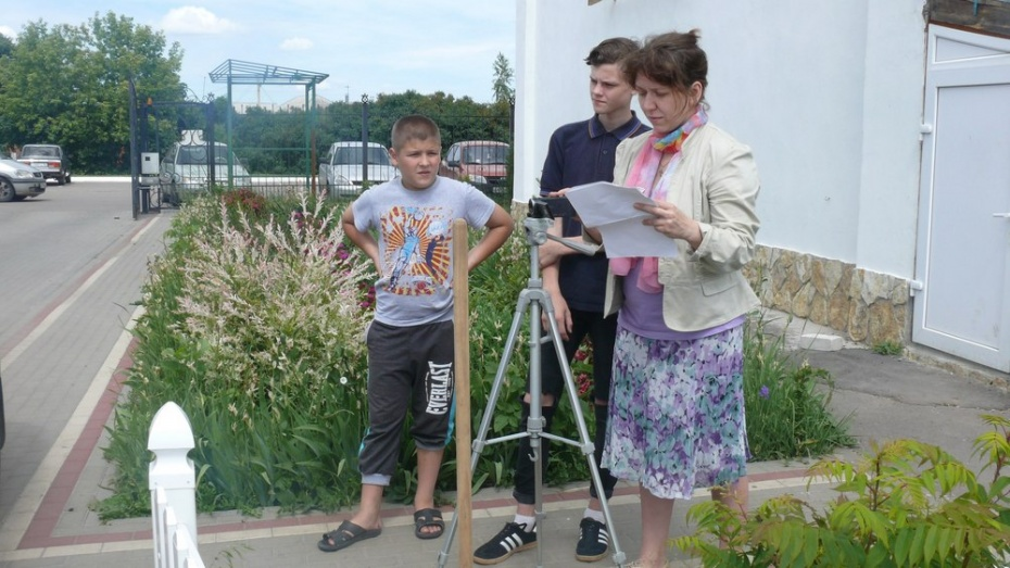 В Новоусманском районе пройдет 1-й областной детский кинофестиваль «Мы сами снимаем кино»