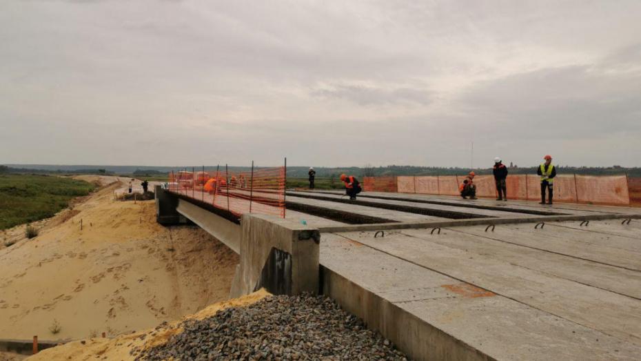 Строительство дороги в обход Боброва в Воронежской области могут завершить досрочно