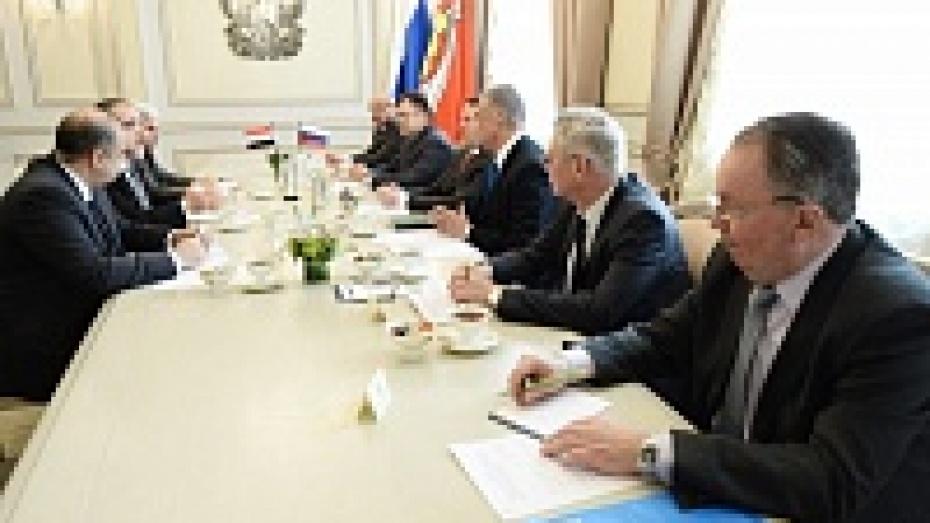 Ирак рассматривает вариант сотрудничества с Воронежской областью в сельском хозяйстве