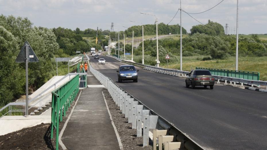 В Аннинском районе отремонтировали 3 моста на федеральной трассе Курск – Борисоглебск