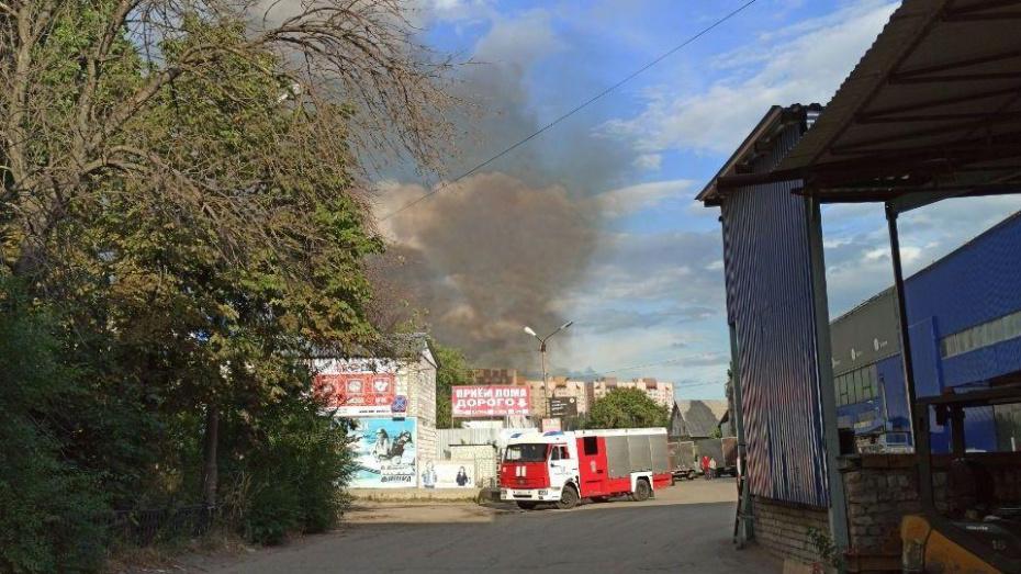 МЧС уточнило объект возгорания в Железнодорожном районе Воронежа