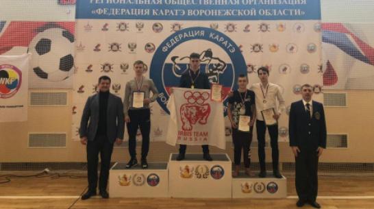 Калачеевский каратист завоевал «серебро» областной спартакиады учащихся