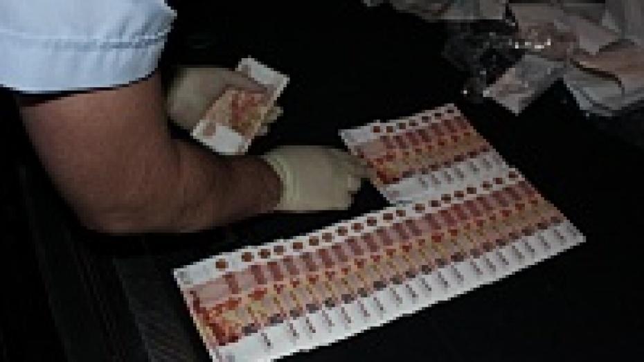Воронежцы продали полицейским фальшивые купюры