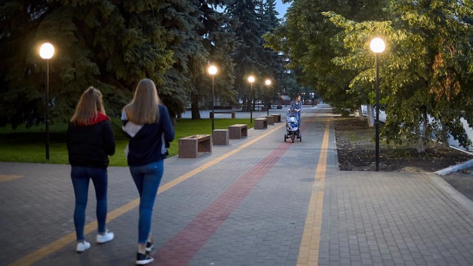 В Анне сделали пешеходную зону