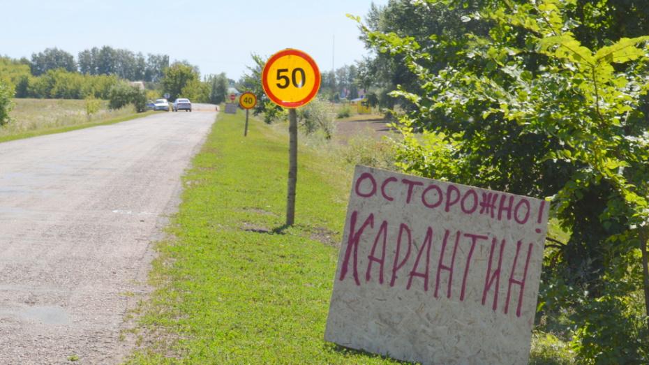Каждый 10-й житель карантинного поселка в Воронежской области заболел коронавирусом