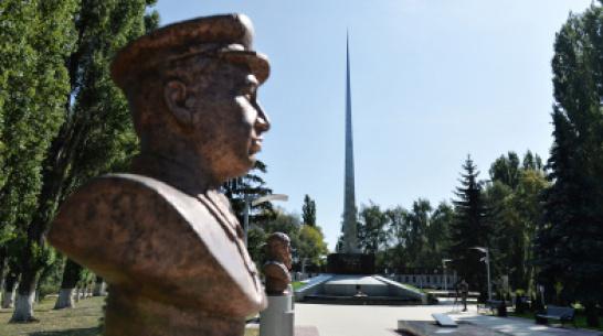Реконструкция мемориального комплекса в Анне Воронежской области обошлась в 35 млн рублей