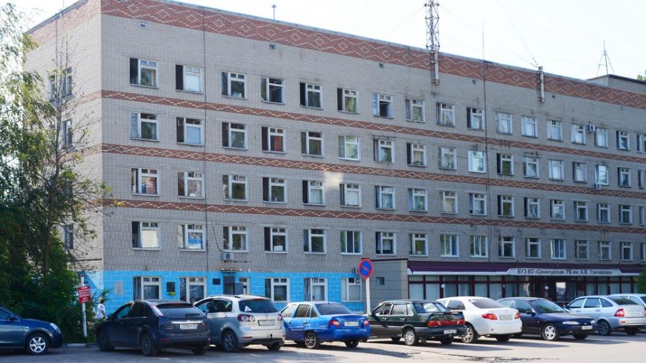 В Семилукской больнице отремонтируют детское отделение