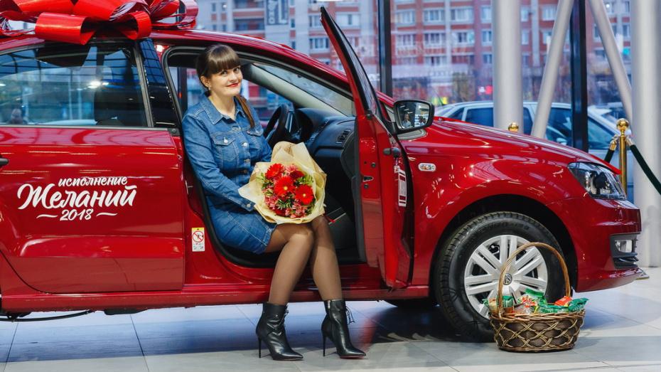 «МАКФА» исполнила мою мечту!» Жительница Воронежа купила макароны и выиграла автомобиль