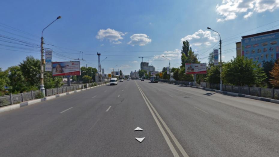 Движение по виадуку у Заставы в Воронеже закроют в ночь на 3 сентября