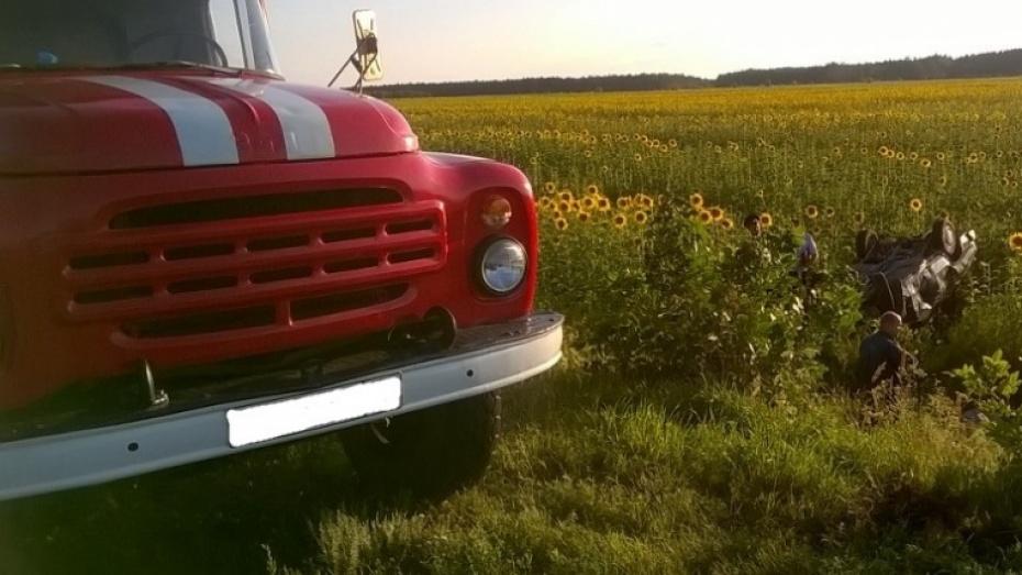 Автоледи разбилась на «семерке» в Воронежской области