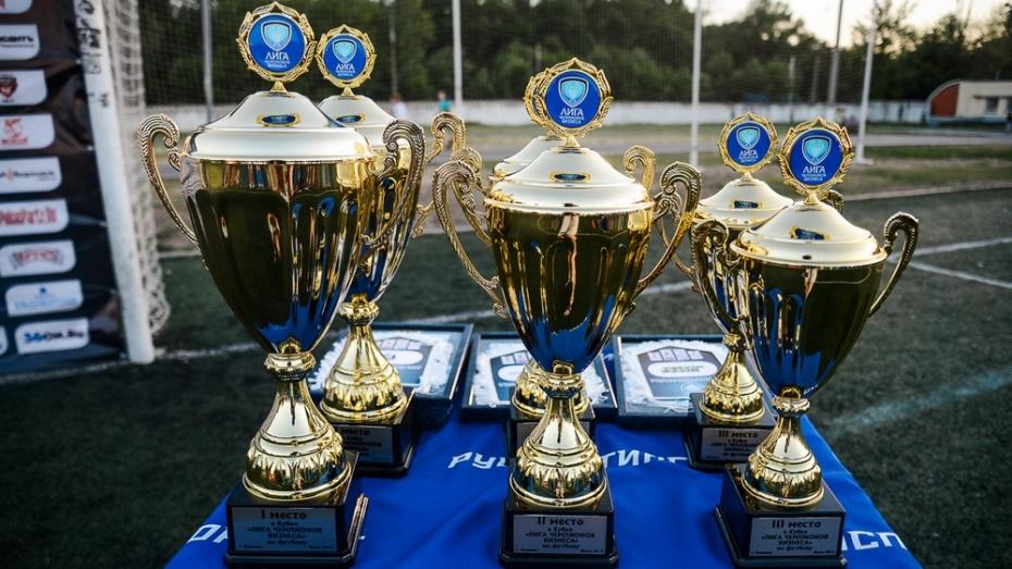 Дебютный сезон «Лиги Чемпионов Бизнеса» по футболу завершился в Воронеже