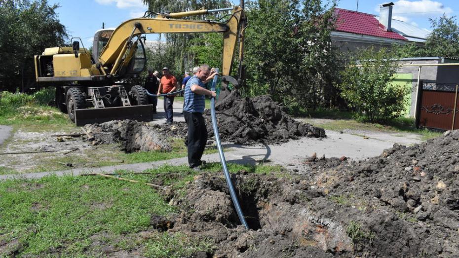 В Калаче на 5 улицах заменят водопровод