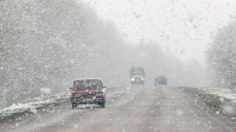 Госавтоинспекция предупредила воронежских автомобилистов об опасных дорогах