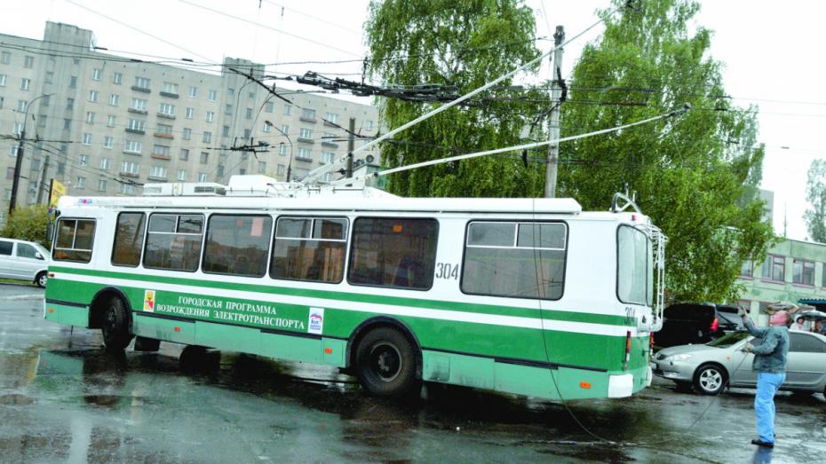 Троллейбус №8 возобновит работу в Воронеже