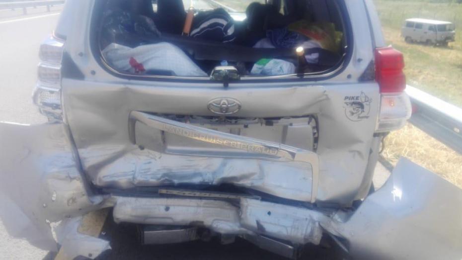 В Воронежской области 4 человека пострадали в ДТП с иномарками