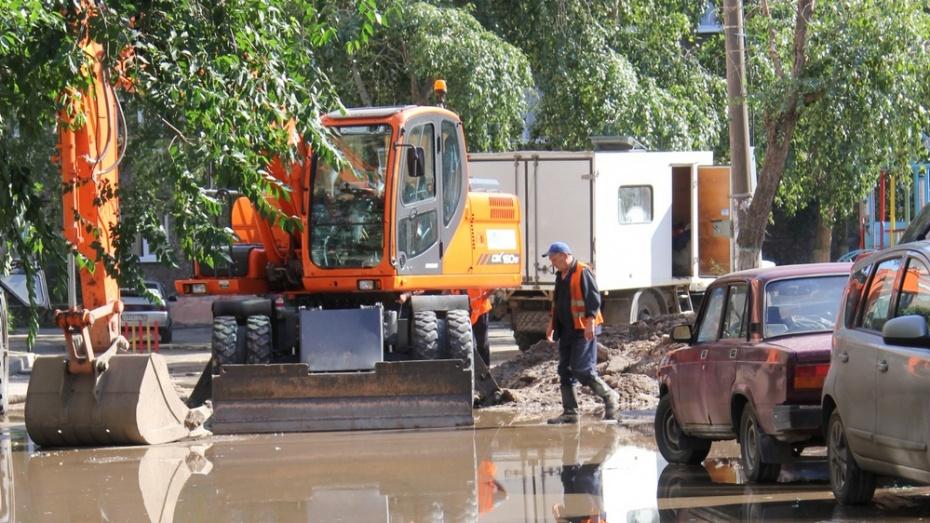 Воронежские коммунальщики заменят участок водопровода на улице Ростовской