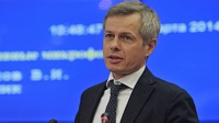 Анатолий Шмыгалев: «Воронежская область меньше, чем соседи, ощущает замедление темпов экономического роста»