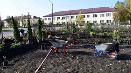 В Рамони реконструируют детский парк за 1 млн рублей
