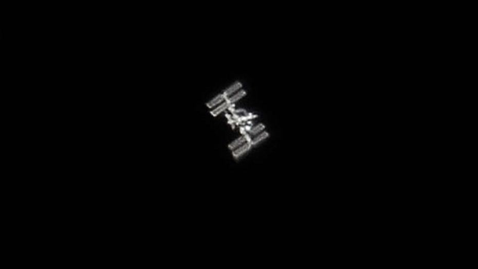 Воронежцы сфотографировали МКС в ночном небе