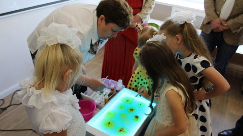 В ольховатском поселке Большие Базы открыли детский сад с бассейном