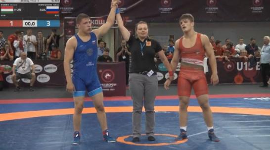 Воронежский борец выиграл первенство Европы
