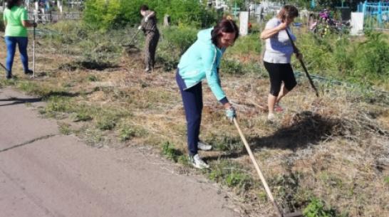 В верхнемамонском селе Русская Журавка благоустроят кладбище