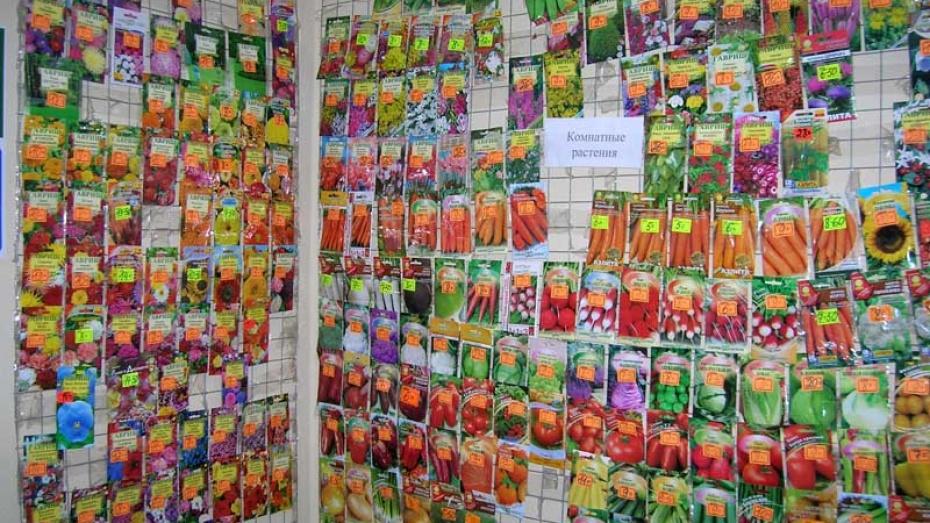 В Воронеже и области массово продают поддельные семена