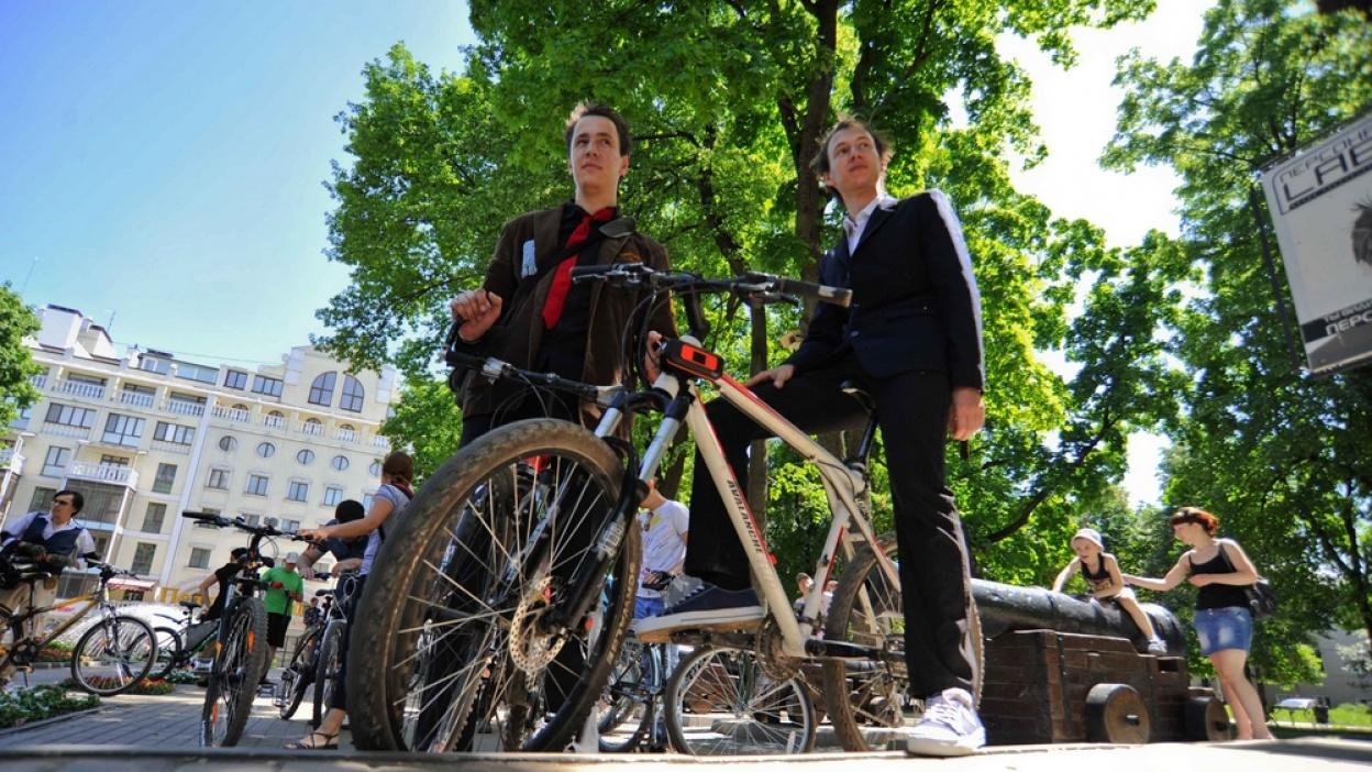 Чиновники проинспектируют Воронеж на велосипедах