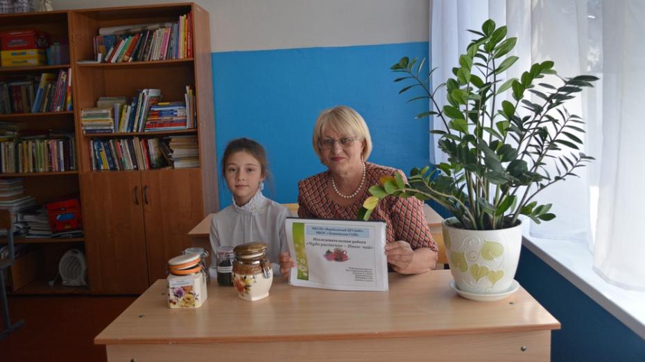 Школьница из Воробьевского района победила в областном конкурсе «Юннат»