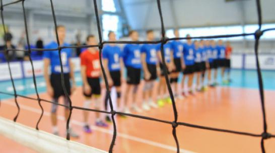 Воронежские волейболисты проиграли «Волжанину» на тай-брейке