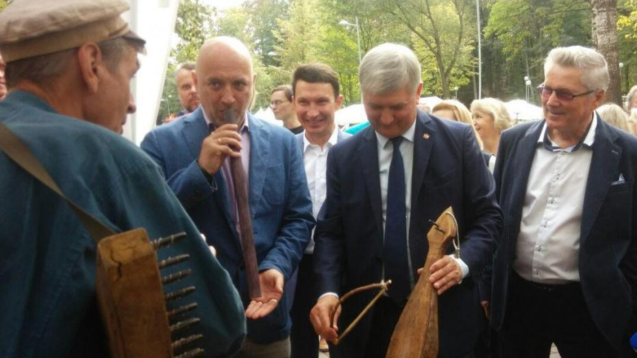 Губернатор Воронежской области открыл фестиваль традиционной культуры «Русское лето»