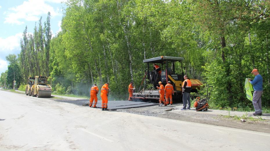 В Подгоренском районе отремонтируют дороги на 27 улицах городского поселения