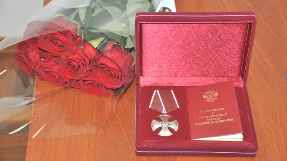Погибших наКавказе воронежских служащих ФСБ наградили посмертно