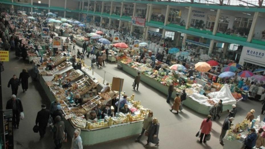 Только четыре воронежских рынка соответствуют всем требованиям закона
