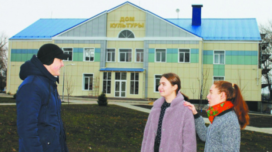 В подгоренском селе Сергеевка проведут внутренний ремонт Дома культуры