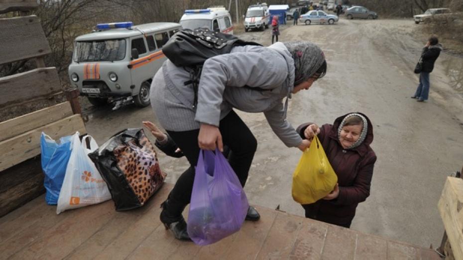 Жителям Воронежской области, чье имущество пострадало от паводка, окажут материальную помощь