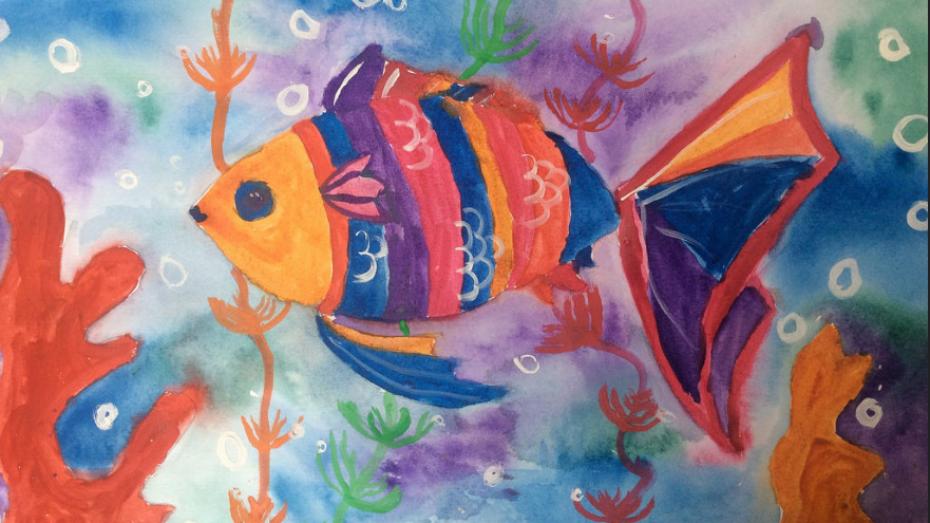 Воронежец победил во всероссийском конкурсе детского рисунка «Разноцветные капли»