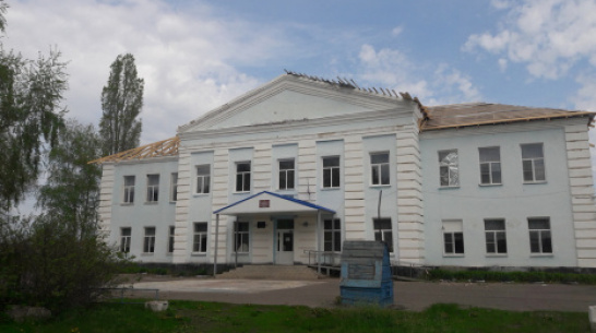 В петропавловском селе Старая Меловая на здании школы заменят кровлю