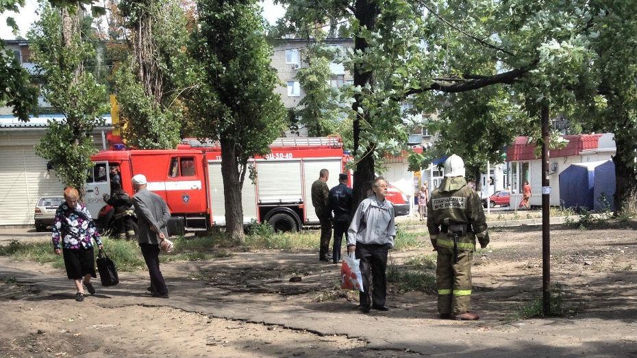 Воронежцы приняли сумку с бутылками за бомбу
