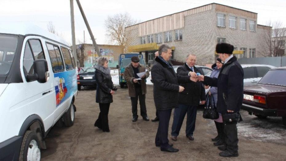 Многодетная семья из Таловского района получила «Газель» в рамках губернаторской программы