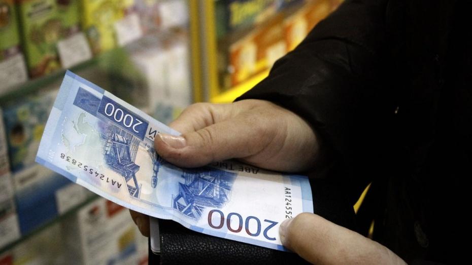В Воронеже реальная зарплата за 9 месяцев выросла на 9,8%